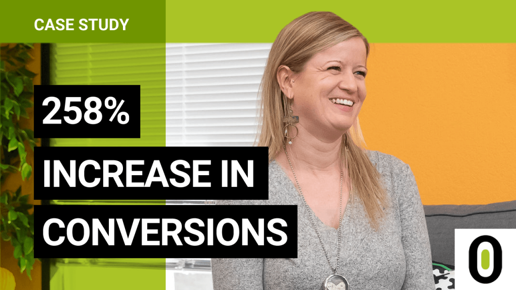 258% Increase in Conversions