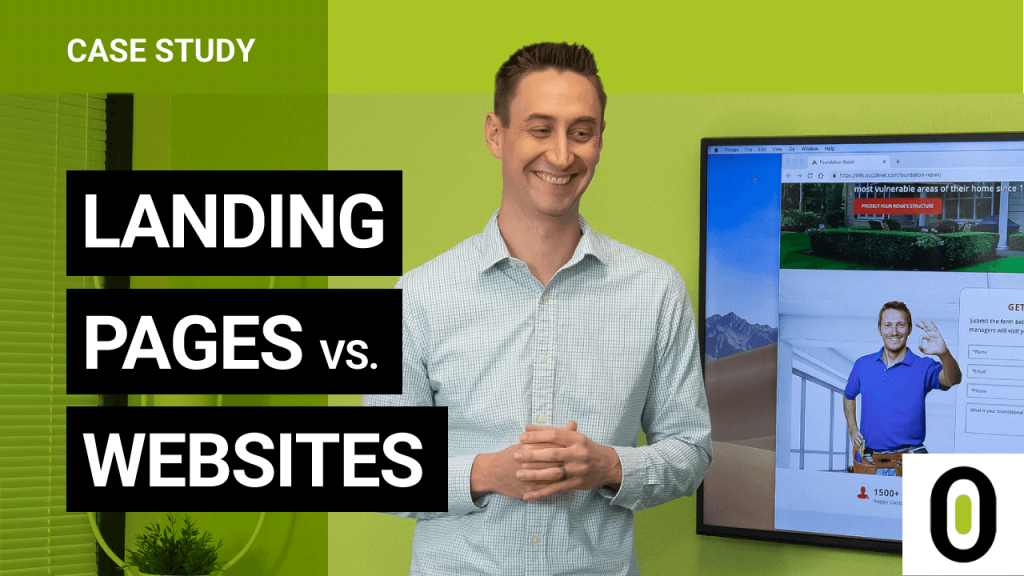 Landing Pages vs. Websites